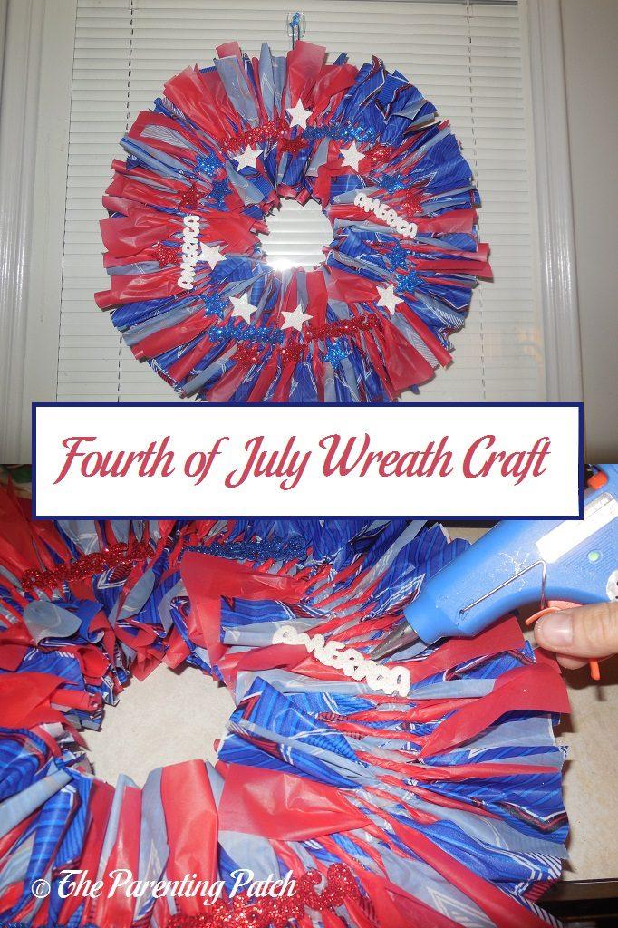 Fourth of July Wreath Craft