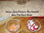 Lauryn Janae Premium Mini Stackable Glass Prep Bowls Review