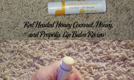 Red Headed Honey Coconut, Honey, and Propolis Lip Balm Review
