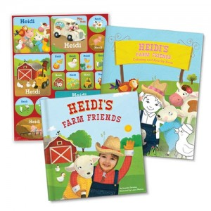 I See Me! My Farm Friends All-in-One Gift Set