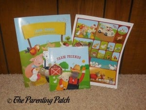 Personalized I See Me! My Farm Friends All-in-One Gift Set