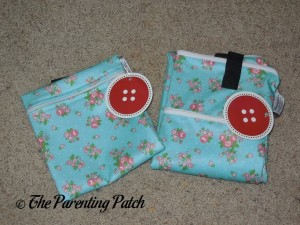 Folded Buttons Diapers Large and Medium New Design Wet Bags