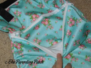 Pocket of Large Buttons Diapers New Design Wet Bag