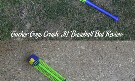 Tucker Toys Crush-It! Baseball Bat Review