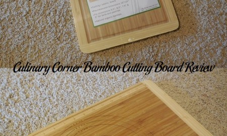 Culinary Corner Bamboo Cutting Board Review