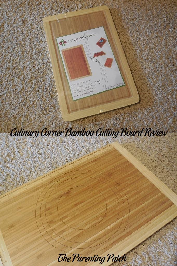 Culinary Corner Bamboo Cutting Board Review