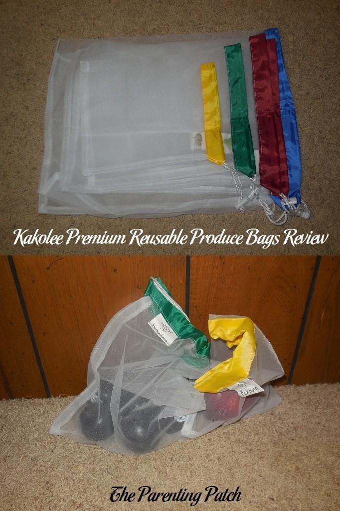 kakolee premium reusable produce bags review parenting patch. Black Bedroom Furniture Sets. Home Design Ideas