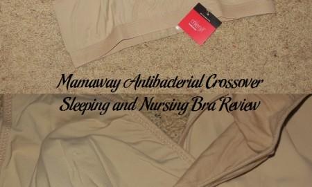 Mamaway Antibacterial Crossover Sleeping and Nursing Bra Review