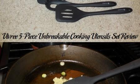 Vivree 5-Piece Unbreakable Cooking Utensils Set Review