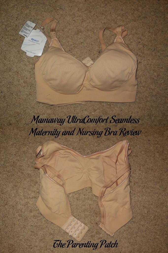 Mamaway UltraComfort Seamless Maternity and Nursing Bra Review