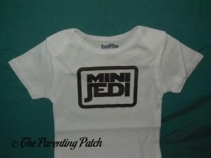 Chest of Baffle Mini Jedi Star Wars Baby Bodysuit