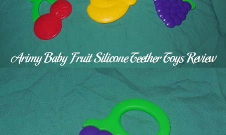 Arimy Baby Fruit Silicone Teether Toys Review