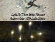 LightsEtc Warm White Blossom Outdoor Solar LED Lights Review