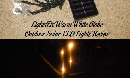 LightsEtc Warm White Globe Outdoor Solar LED Lights Review