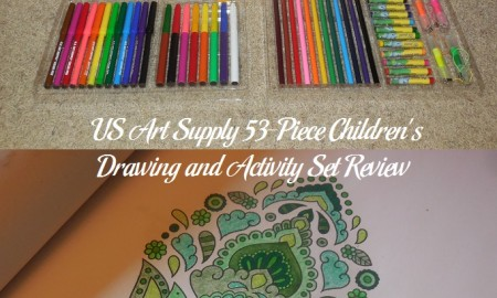 US Art Supply 53-Piece Children's Drawing and Activity Set Review
