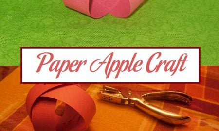 Paper Apple Craft