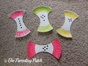 A Is for Apple Paper Plate Craft
