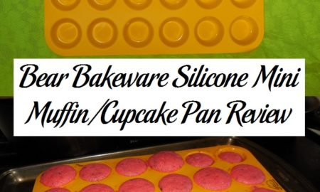 Bear Bakeware Silicone Mini Muffin/Cupcake Pan Review