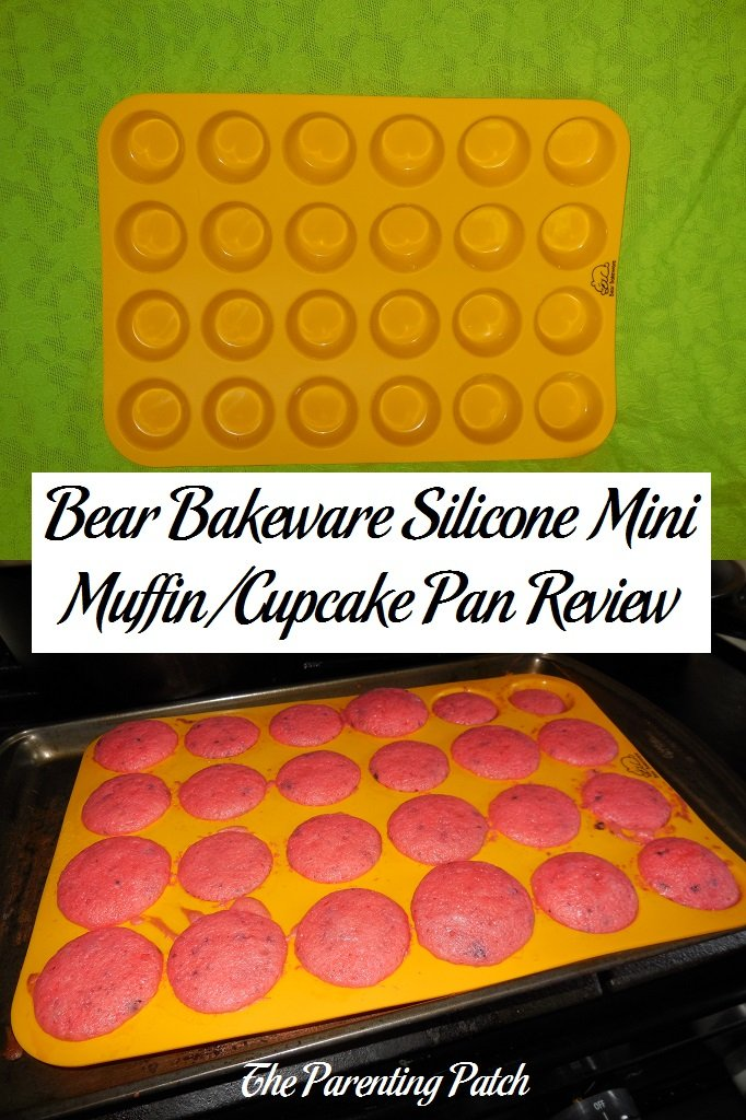 Bear Bakeware Silicone Mini Muffin/Cupcake Pan Review