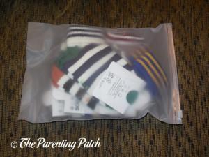 Lomon Boys Stripe Ankle Socks in Package