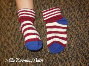 Lomon Boys Stripe Ankle Socks on Toddler