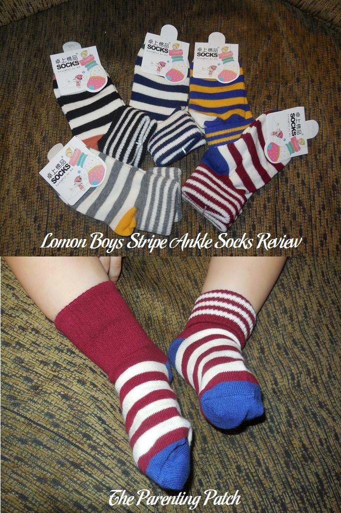 Lomon Boys Stripe Ankle Socks Review
