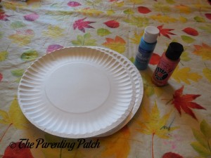 Paper Plates and Paint for B Is for Baby Paper Plate Craft