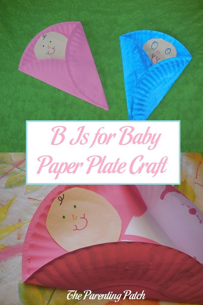 B Is for Baby Paper Plate Craft