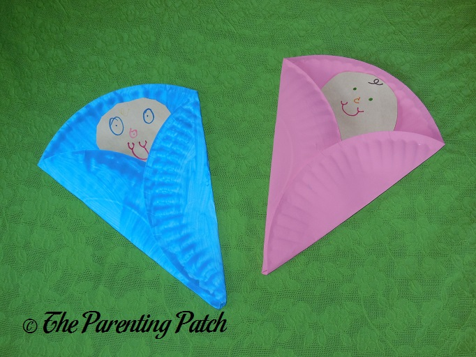 Finished B Is for Baby Paper Plate Crafts & B Is for Baby Paper Plate Craft | Parenting Patch