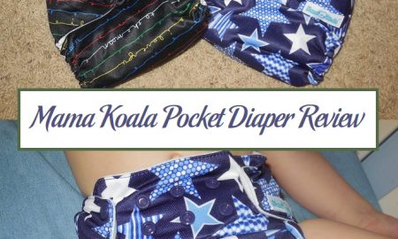 Mama Koala Pocket Diaper Review