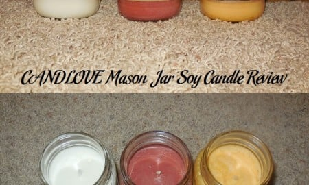CANDLOVE Mason Jar Soy Candle Review