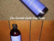 Cove Lavender Castile Soap Review