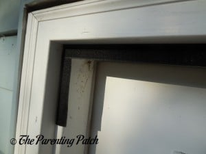 Installing the Top Velcro for the Apalus Magnetic Screen Door