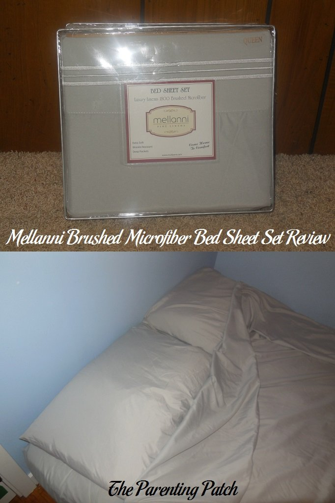 Mellanni Brushed Microfiber Bed Sheet Set Review