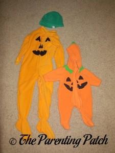 Toddler Pumpkin Halloween Costume