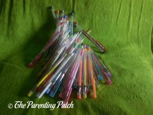Pile of 360 Boost Gel Pens
