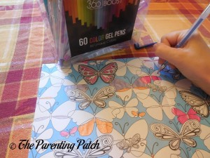 Coloring with the 360 Boost Gel Pen Set 1