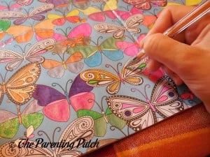 Coloring with the 360 Boost Gel Pen Set 2