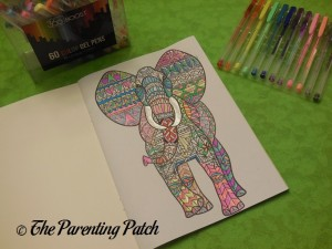 Coloring with the 360 Boost Gel Pen Set 4