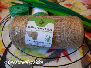 RichCraft Classic Rustic Burlap Roll and Other Materials