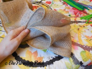Adding More Loops of RichCraft Classic Rustic Burlap Roll