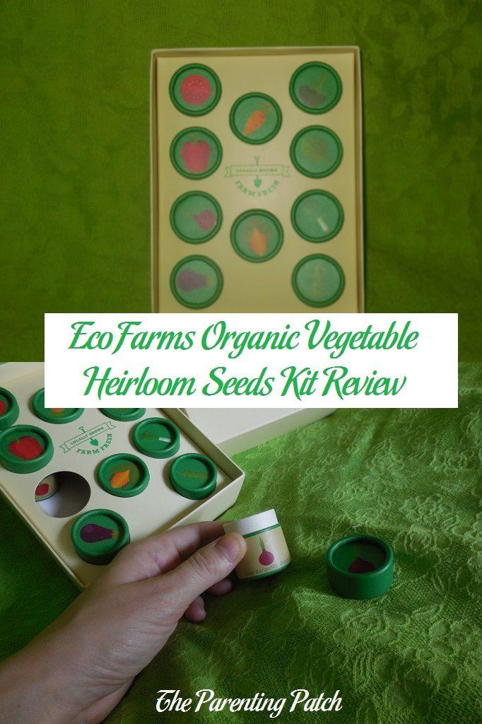 EcoFarms Organic Vegetable Heirloom Seeds Kit Review