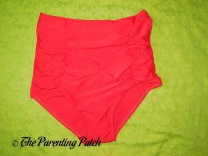 Bottom of Fitglam Retro High-Waisted Bikini Swimsuit
