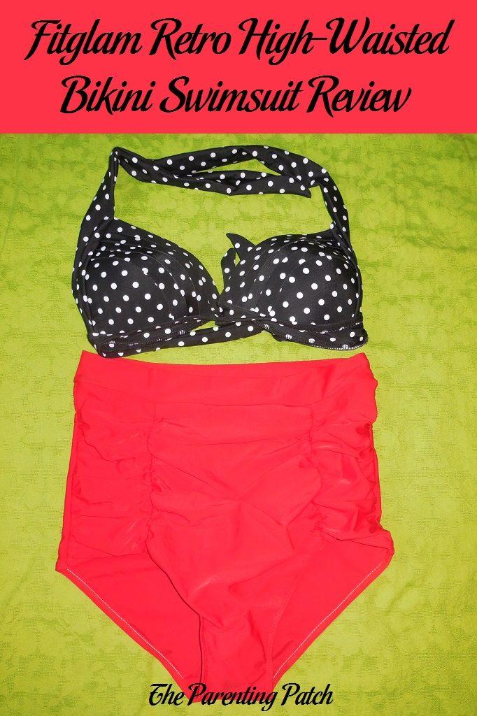 Fitglam Retro High-Waisted Bikini Swimsuit Review