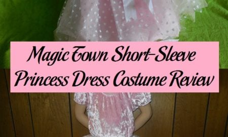 Magic Town Short-Sleeve Princess Dress Costume Review