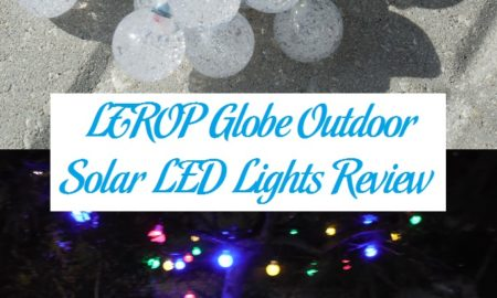 LTROP Globe Outdoor Solar LED Lights Review