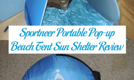 Sportneer Portable Pop-up Beach Tent Sun Shelter Review