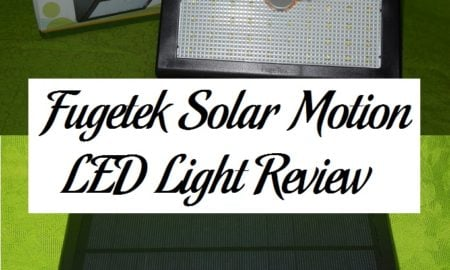 Fugetek Solar Motion LED Light Review