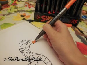 Coloring with US Art Supply Super Markers 1