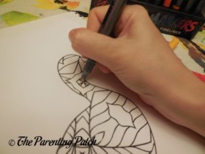 Coloring with US Art Supply Super Markers 2